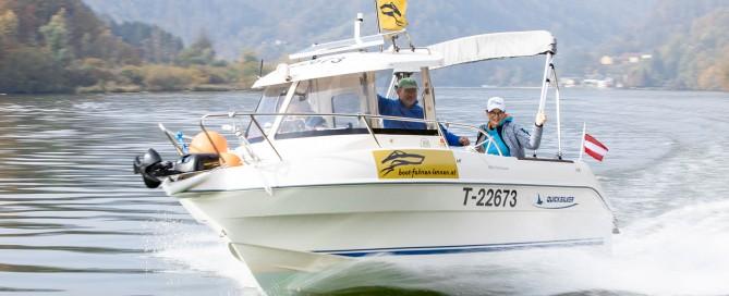 Boot Fahren Lernen | Untermühl Oberösterreich und Hatting & Imst in Tirol | Bootsführerschein | Motorboot Kurse