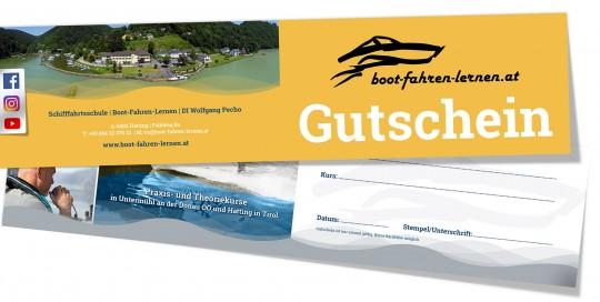 Gutschein für das Donaupatent, einen Funkkurs oder eine Bootsmiete…haben wir für Dich!
