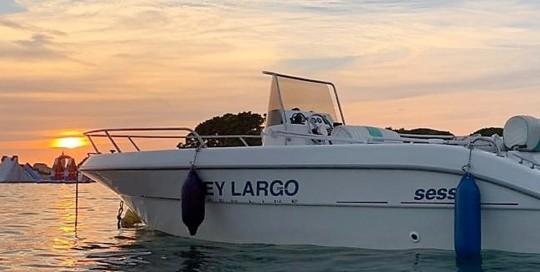 Bei uns kannst Du auch Motorboote mieten!